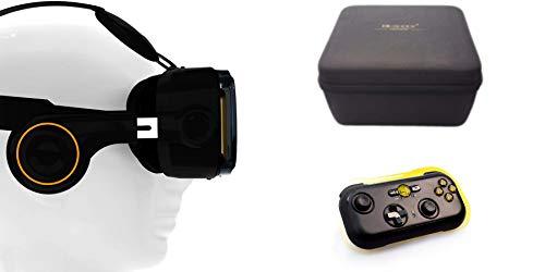 VR-Shark X4 Bundle - Virtual Reality Kit & Bluetooth Gamepad...