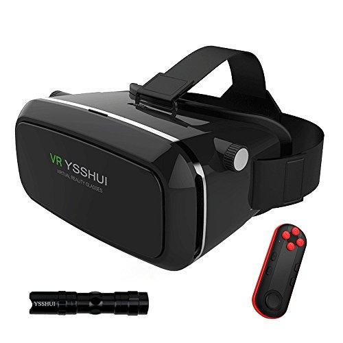 3D-VR-Brille, YSSHUI 3D-VR-Headset mit...