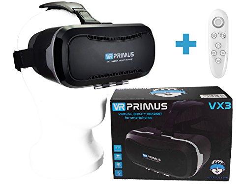 VR-PRIMUS VX3 VR Brille, kompatibel mit Handys bis 5.8 Zoll...