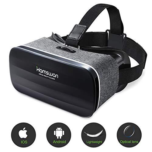 HAMSWAN 3D VR Brille für Handy, Video Movie Game Brille...