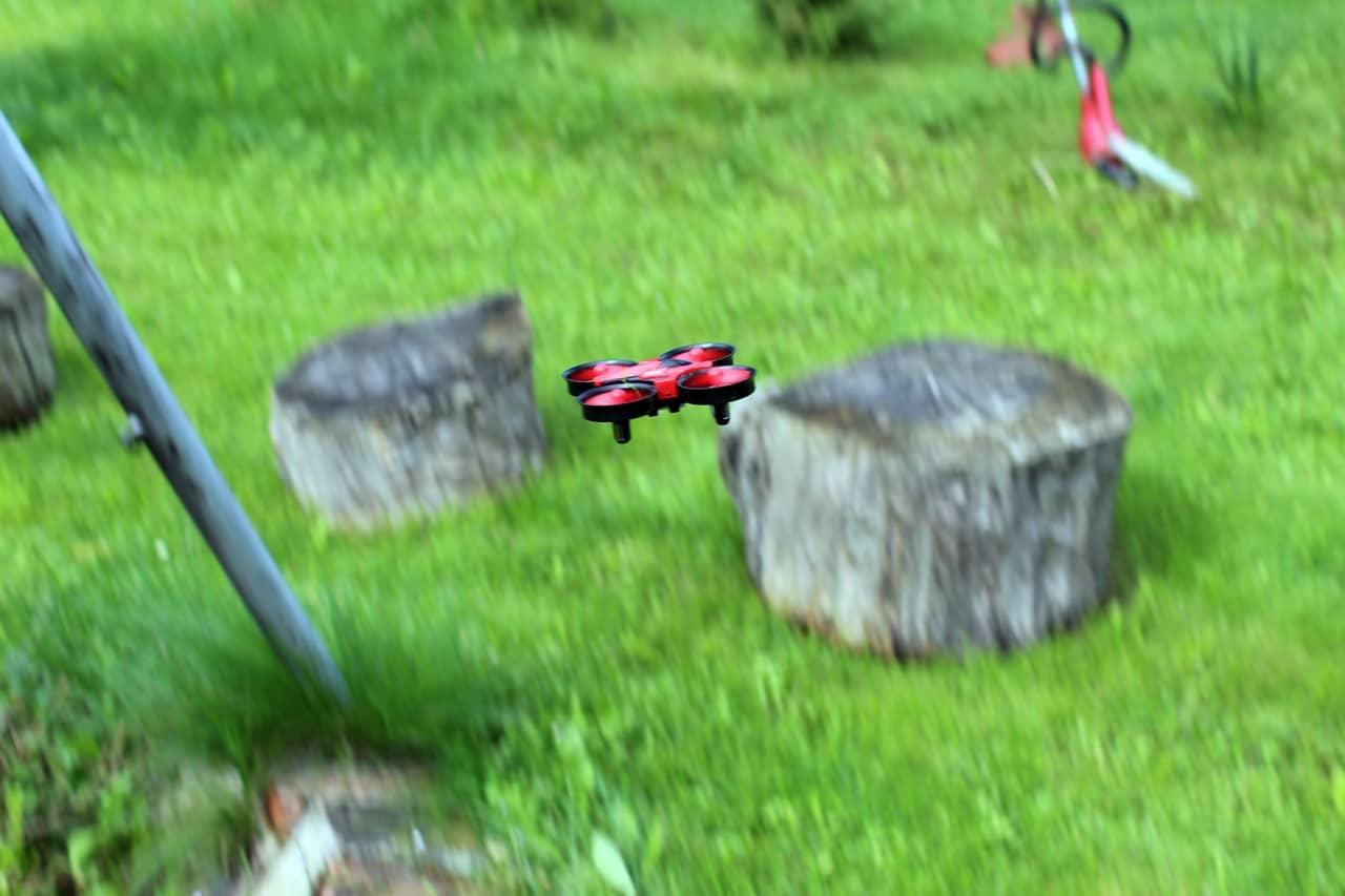 Mini Drohne Test Frs Wohnzimmer Und Draussen