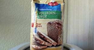 Brotbackmischung Test: Küchenmeister Vollkornbrot