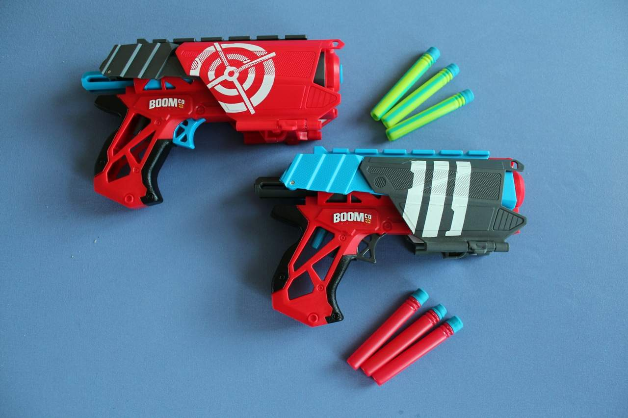 Nerf Gun Alternative: Boomco Dual Defenders Blaster Test