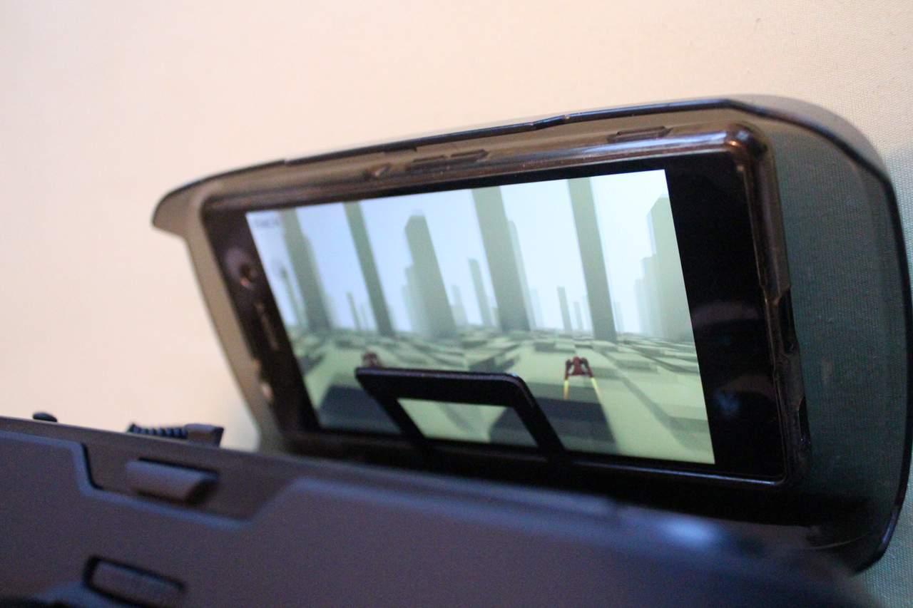 VR-Brille Smartphone befestigen
