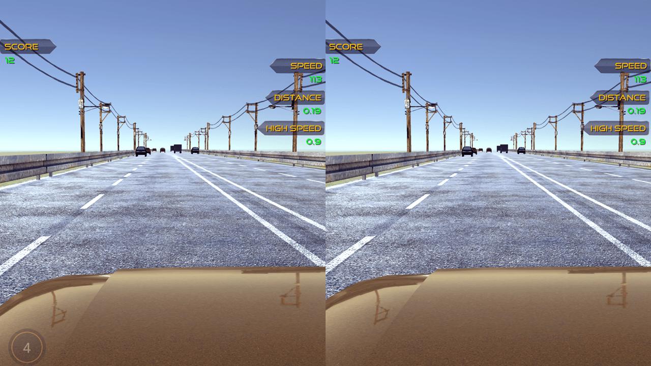 VR Racer Test