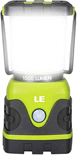 LE LED Campinglampe, Ultra Hell 1000 Lumen, 3 Helligkeiten...