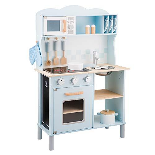 New Classic Toys 11065 Küchenzeile-Modern mit Kochfeld,...