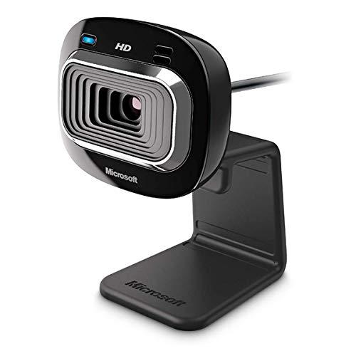 Microsoft LifeCam HD-3000 (Webcam, Skype zertifiziert)