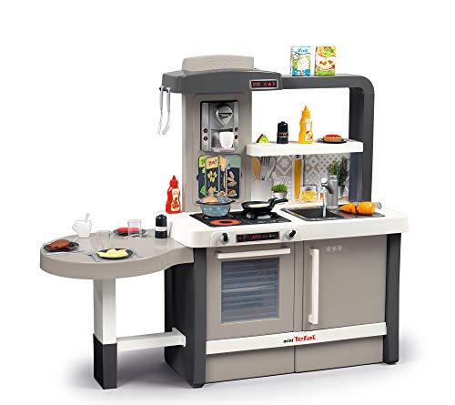 Smoby 312300 Tefal Evo Küche mitwachsende Kinderküche mit...