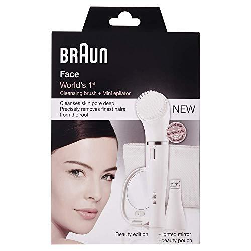 Braun Face Gesichtsepilierer und Gesichtsreinigungsbürste...