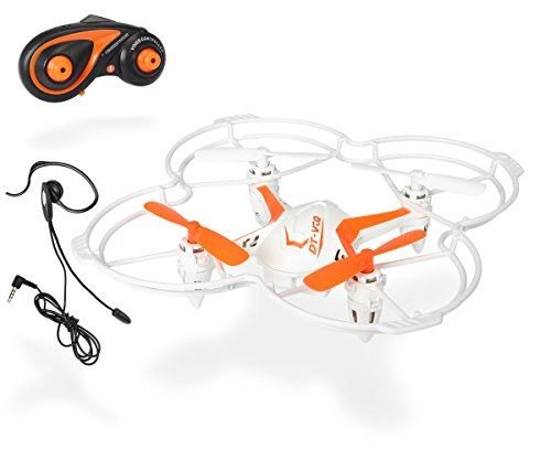 Dickie Toys 201119432 - RC DT VCQ-Voice Quadrocopter,...