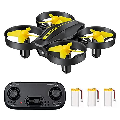 DEVASO Mini Drohne für Kinder und Anfänger mit 3 Akkus...