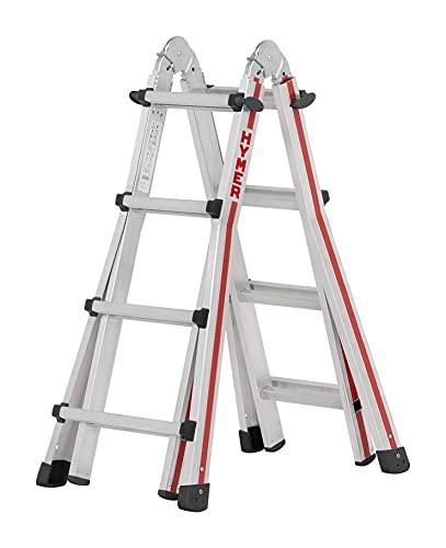 Hymer Teleskopleiter 4x4 Stufen (max. Höhe 3 Meter als...