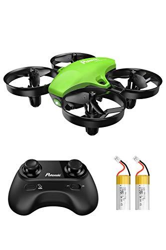 Potensic Mini Drohne fr Kinder und Anfnger mit 2 Akkus, RC...