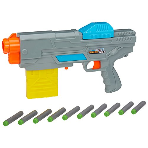 Buzz Bee Toys Ultra Tek 8 Blaster, Spielzeugpistole