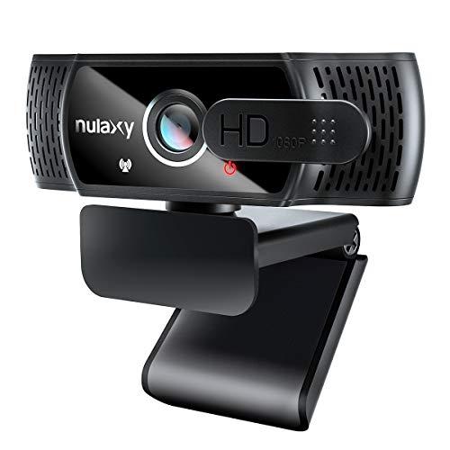 Nulaxy C900 Webcam mit Mikrofon, FHD 1080P Webcam mit...
