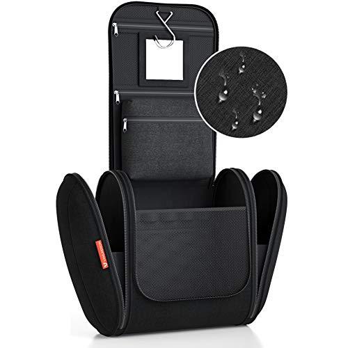 Kulturbeutel XXL [Design 2021] Kulturtasche für Männer und...