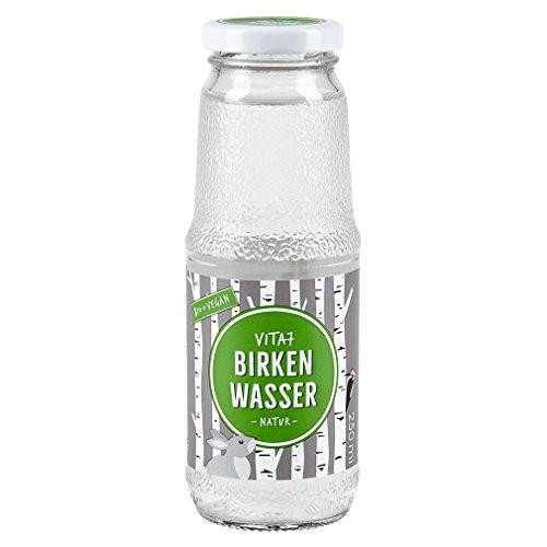 Bio Birkenwasser Natur - 100% natürlich - nur Birkensaft,...