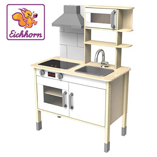 Eichhorn 100002494 - Spielküche aus Holz, Herd mit...