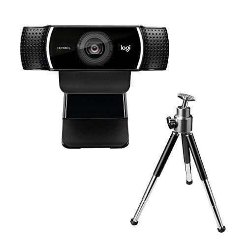 Logitech C922 PRO Webcam mit Stativ, Full-HD 1080p, 78°...