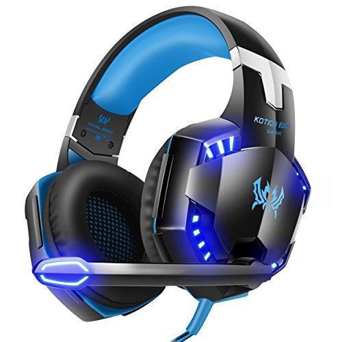 Gaming Headset,Rixow G2000 Pro Gaming Kopfhörer mit...