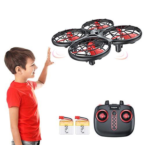 Tomzon D15 Handbetriebene Mini Drohne mit 2 Akkus,...