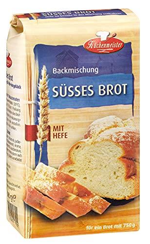 BIELMEIER KÜCHENMEISTER Brotbackmischung Süßes Brot 15...