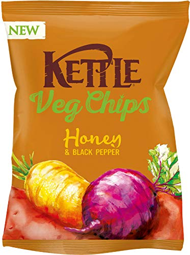 Kettle VegChips Honey & Black pepper, 100 g