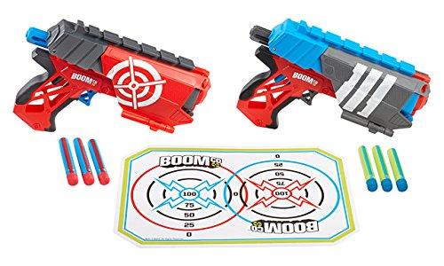Mattel Boomco BGY63 - Dual Defenders, Blaster im Doppelpack