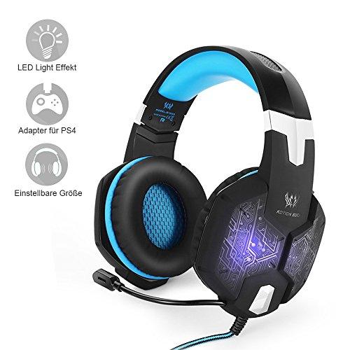 PC&PS4 Gaming Headset, marsboy Gaming Kopfhörer mit...