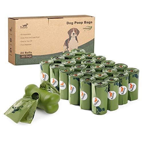Toozey 360 Hundekotbeutel Biologisch Abbaubar mit...
