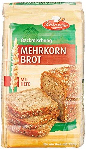 Bielmeier-Küchenmeister Brotbackmischung Mehrkornbrot, 15er...