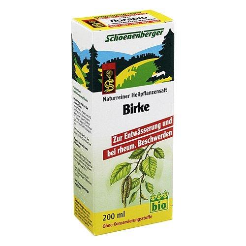 Birkensaft Schoenenberger 200 ml