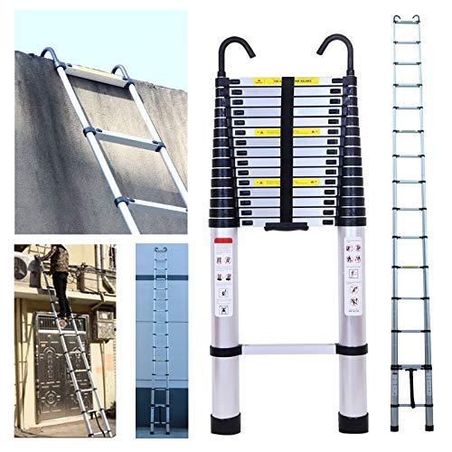 Teleskopleiter aus Aluminium, ausziehbar, tragbar,...