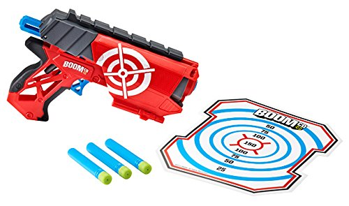 Mattel Boomco Y5728 - Farshot, federgespannter...