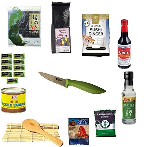 Sushipaket 20tlg. Sparen Sie! Starter Sushi Set sushiset...