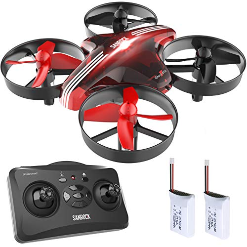 SANROCK GD65A Mini Drohne fr Kinder und Anfnger, RC Drone...