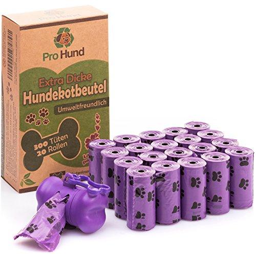 Pro Hund 300 Hundekotbeutel biologisch abbaubar mit...