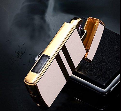Feuerzeug mit Display elektronisch per USB aufladbar
