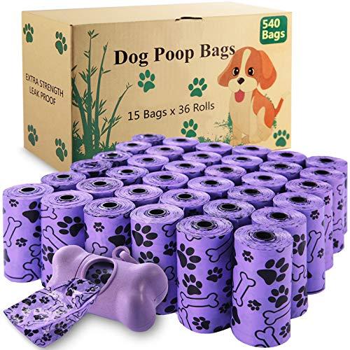 McNory Hundekotbeutel-36 Rollen (540 Tüten) 1 Spender,...