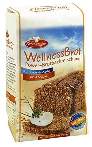 BIELMEIER KÜCHENMEISTER Brotbackmischung Wellnessbrot...