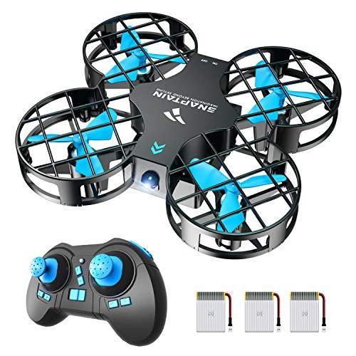 SNAPTAIN Mini Drohne H823H mit 3 Akkus für 21 Minuten...