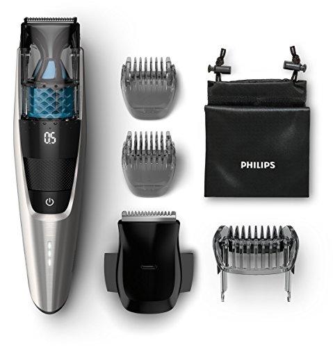 Philips Series 7000 Vakuum Bartschneider BT7220/15, schwarz...