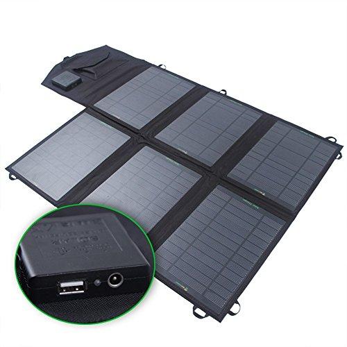 SUNKINGDOM 39W Solar Ladegerät (18 V DC bis 5V USB Dual...