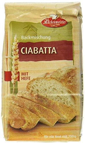 Bielmeier-Küchenmeister Brotbackmischung Ciabatta, 15er...