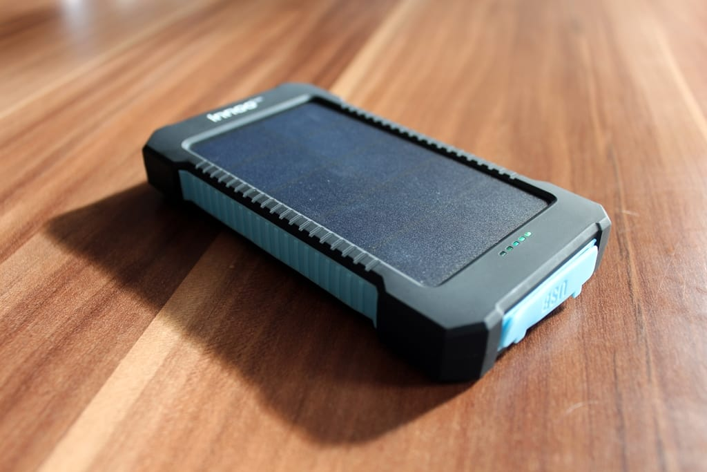 Solar-Ladegerät Test: Innoo Tech 10000 mAh