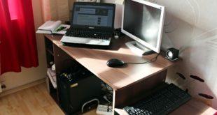 Schreibtisch Test - Homcom Computertisch