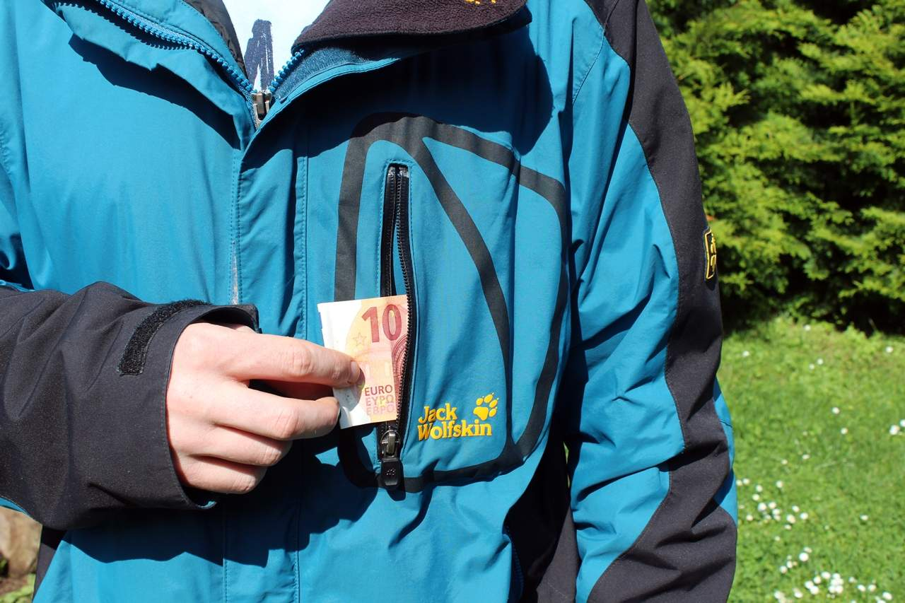 Jack Wolfskin Jacke - Die Taschen