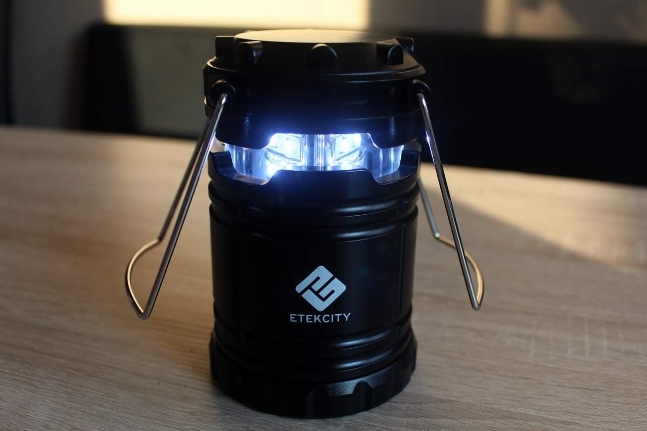 Dimmbare Zeltlampe & Gartenlampe