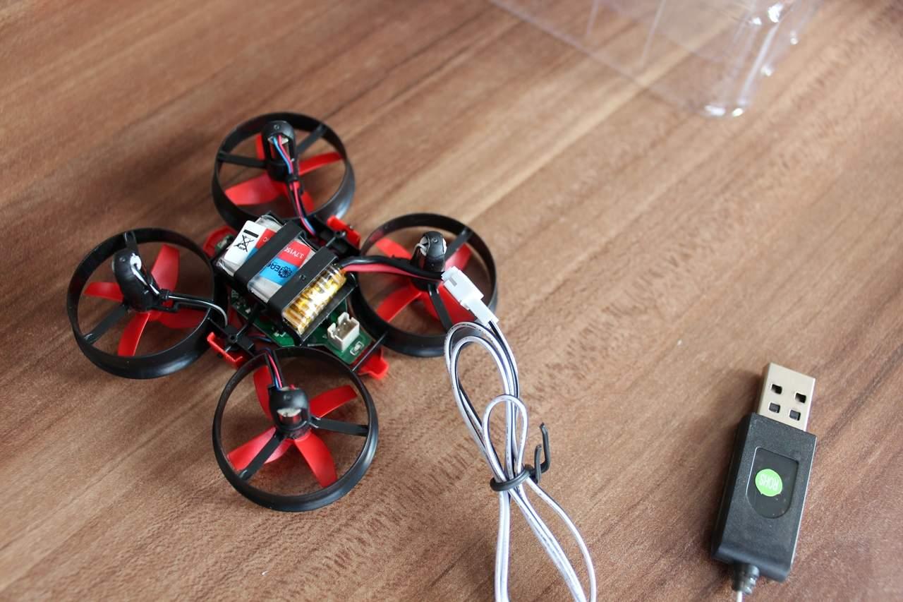 Mini-Drohne Flugzeit & Ladezeit